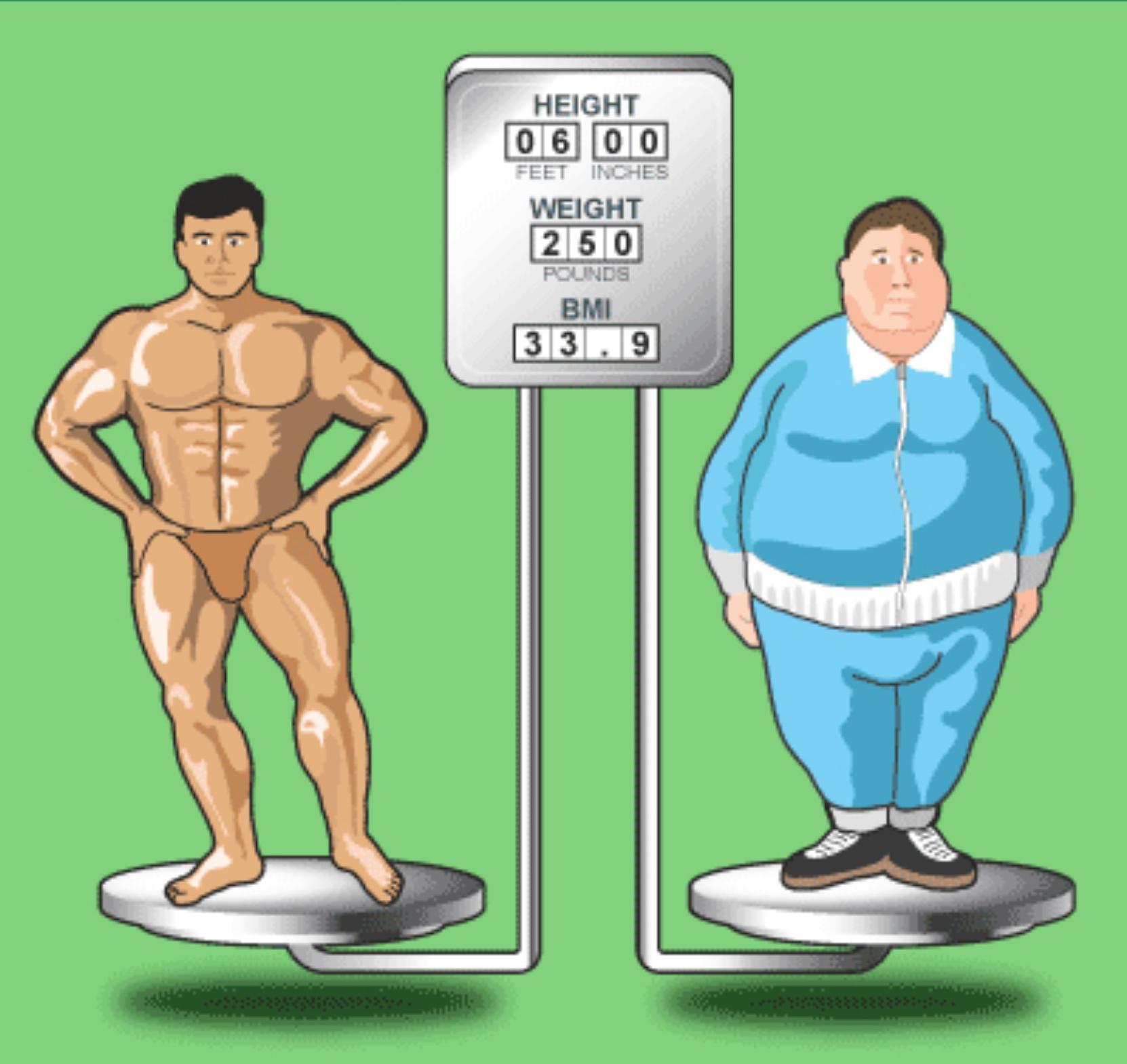 BMI dåligt mått missvisande tar inte hänsyn till faktorer felaktigt kroppssammansättning