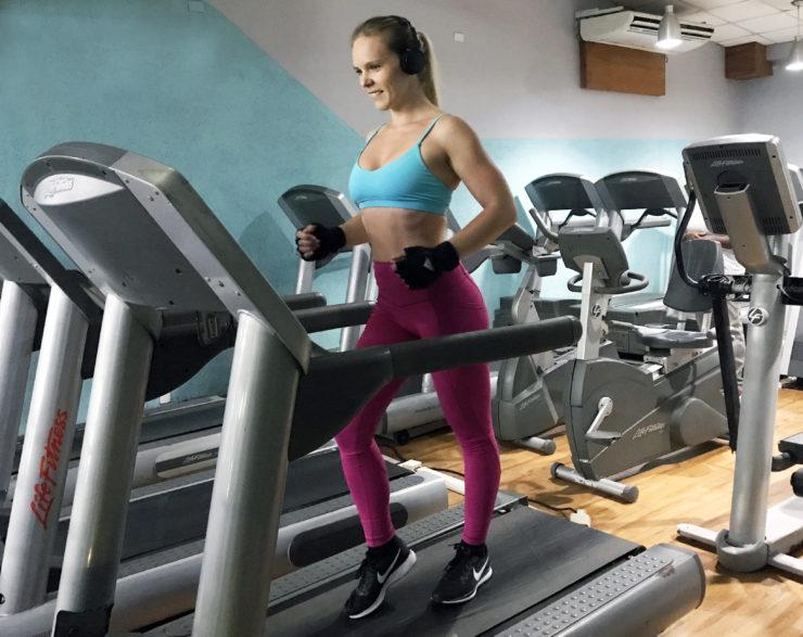 Intervaller löpband gå ner i vikt