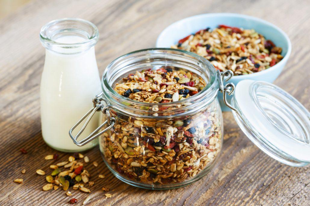 Göra egen muesli recept granola