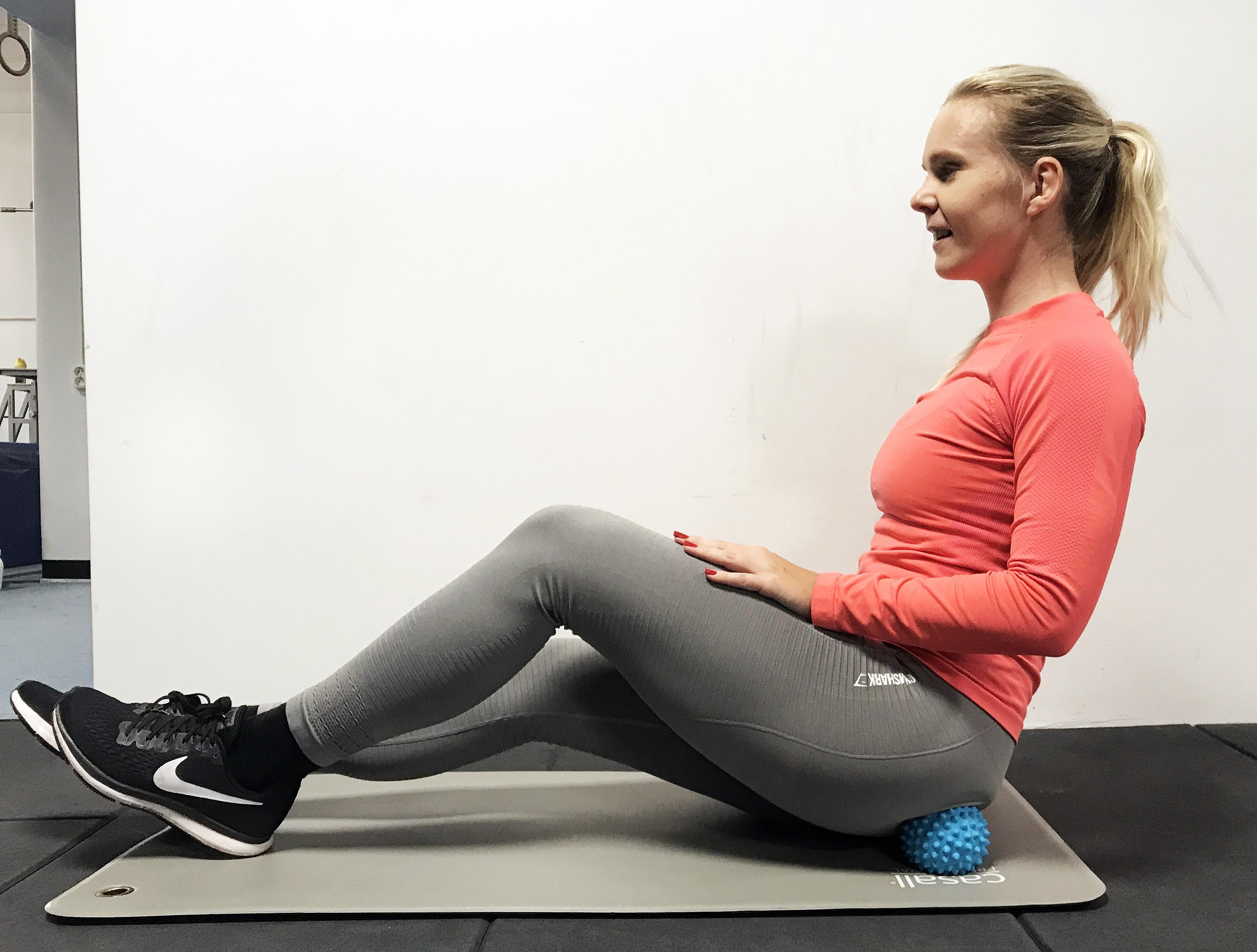 Massagebollar träningsvärk trigger point boll