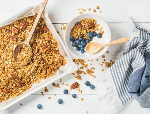 Muesli recept musli pecannötter granola recept