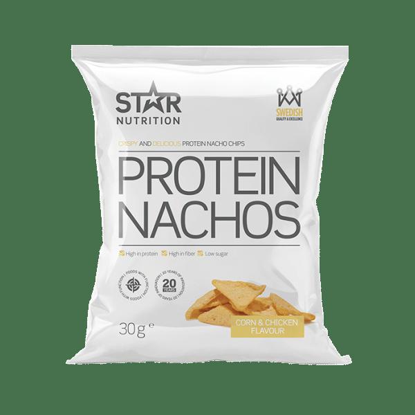 Protein nachos star nutrition protein chips goda hälsosamma chips