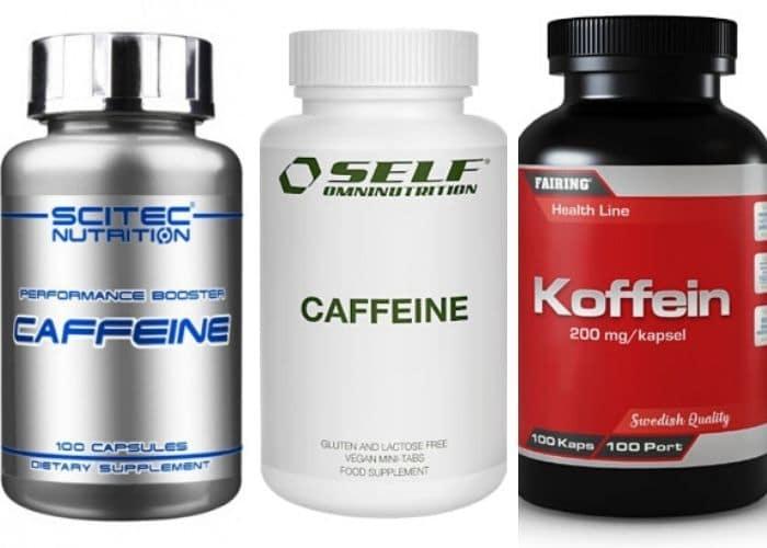 Billiga koffeintabletter träning
