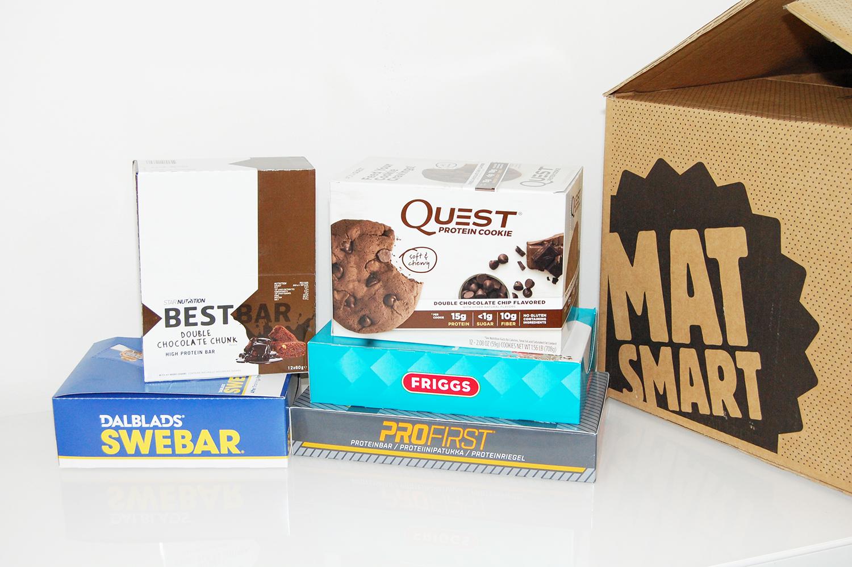 Proteinbars billigt hel låda