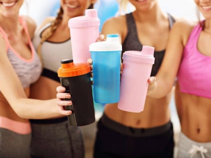 Bra proteinpulver för kvinnor proteinpulver tjejer