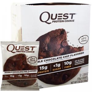 Quest proteinkaka protein cookie choklad double chocolate chip
