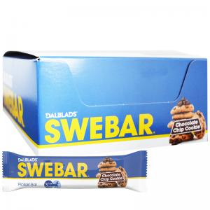 Swebar proteinbar billigt chocolate chip cookie