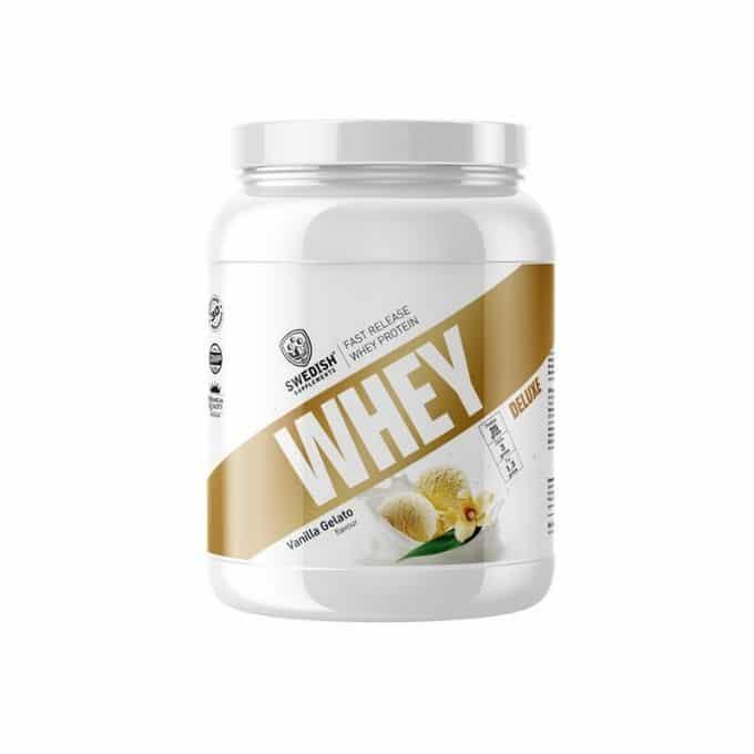 Vaniljprotein 1 kg whey vanilj