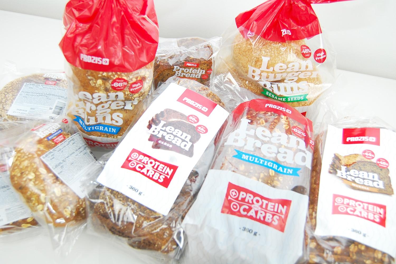 Bröd med färre kolhydrater proteinbröd