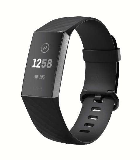Fitbit Charge 3 aktivitetsarmband app menscykel