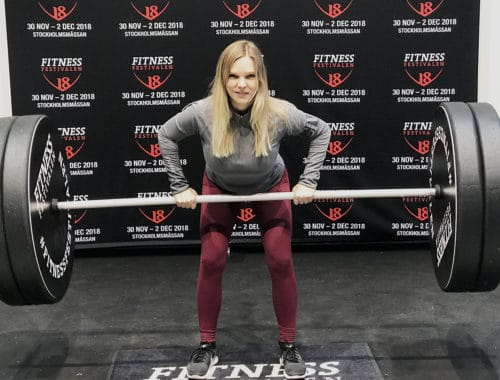 Fitnessfestivalen 2018 Stockholmsmässan Fitnessfia fitnessbloggare träningslogg