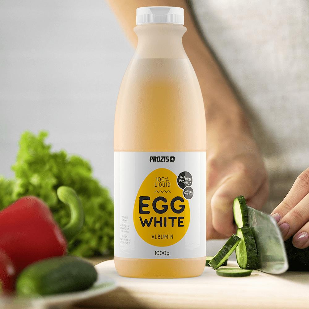 Flytande äggvitor bäst i test