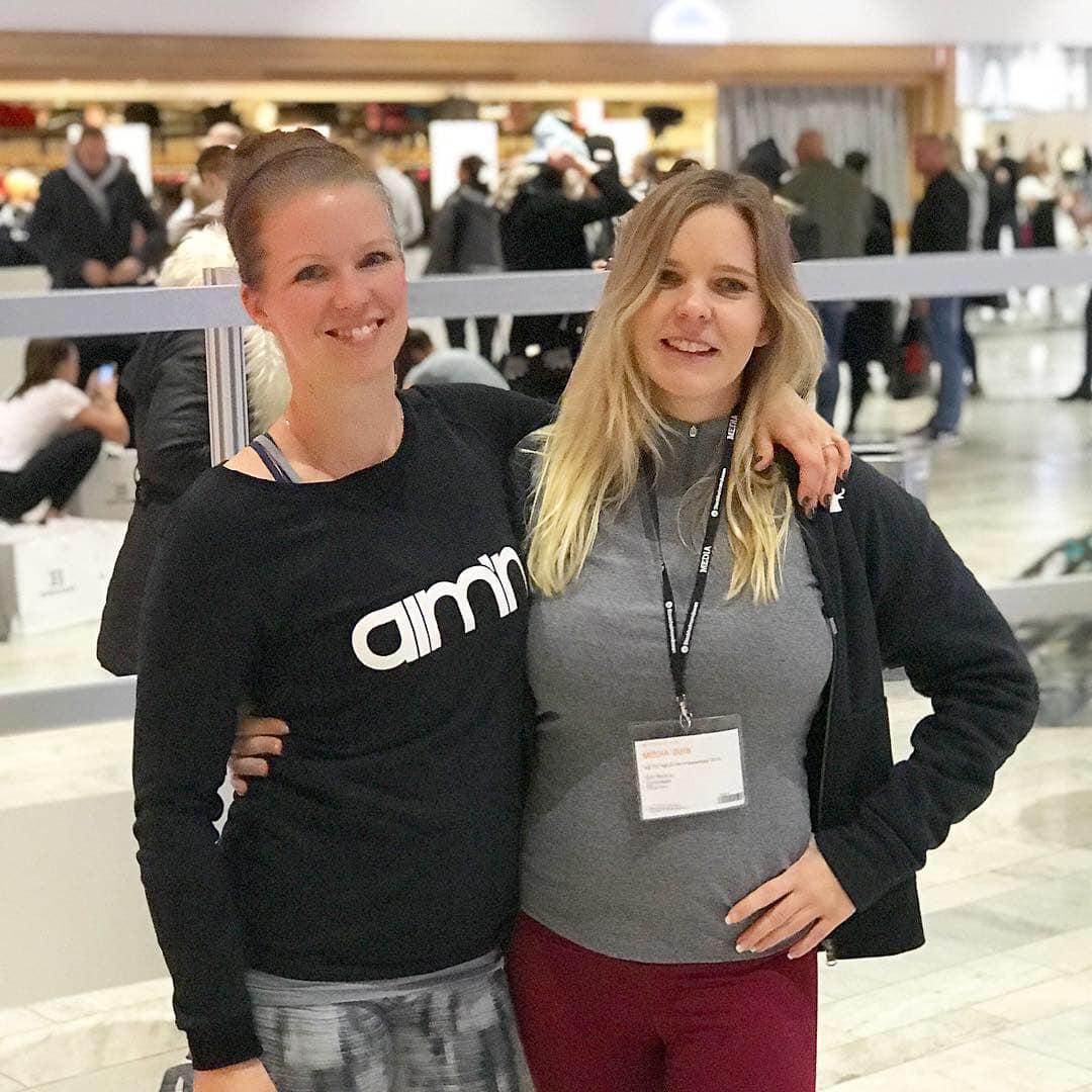 Fitnessfia och Sandra Friberg Fitnessfestivalen 2018 Fitnessmässa