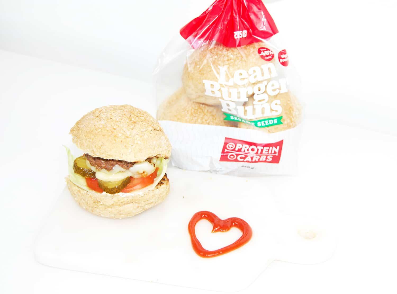 Nyttiga hamburgerbröd med protein LCHF