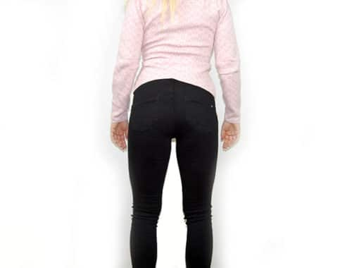Push-up jeans shaping jeans som lyfter rump