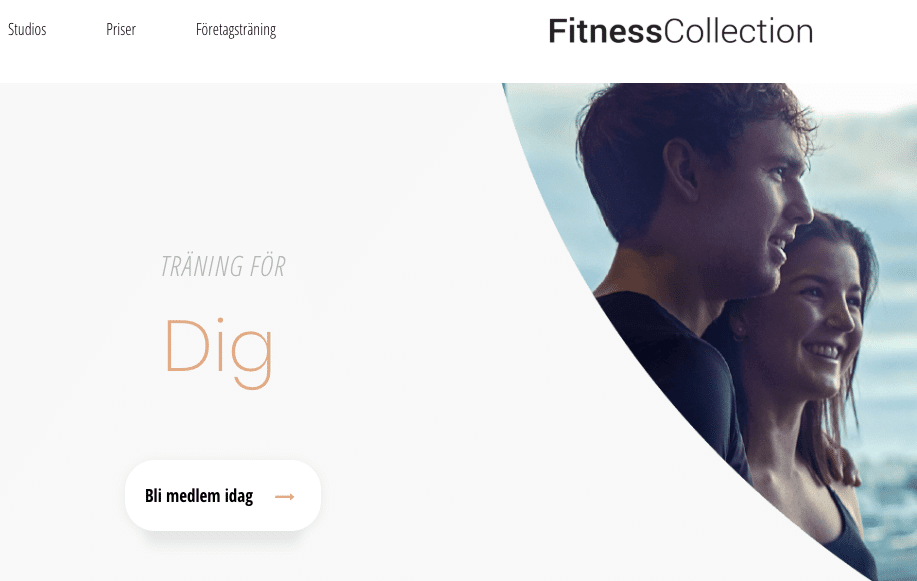 Fitnesscollection gymkort medlemsskap app