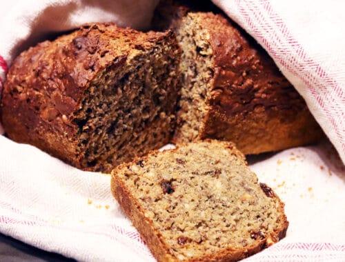 Lingonbröd recept med filmjölk eller yoghurt nyttigt bröd recept