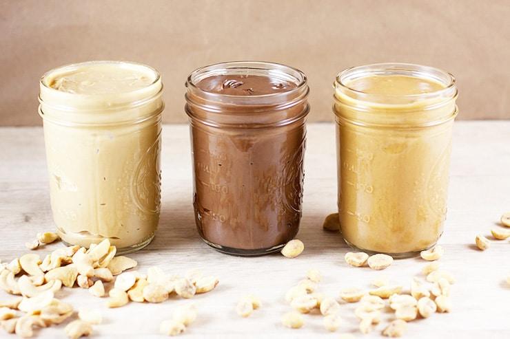 Nyttigt nötsmör jordnötssmör nyttigt mandelsmör nyttigt cashew nötsmör