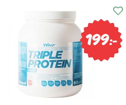 proteinpulver billigt