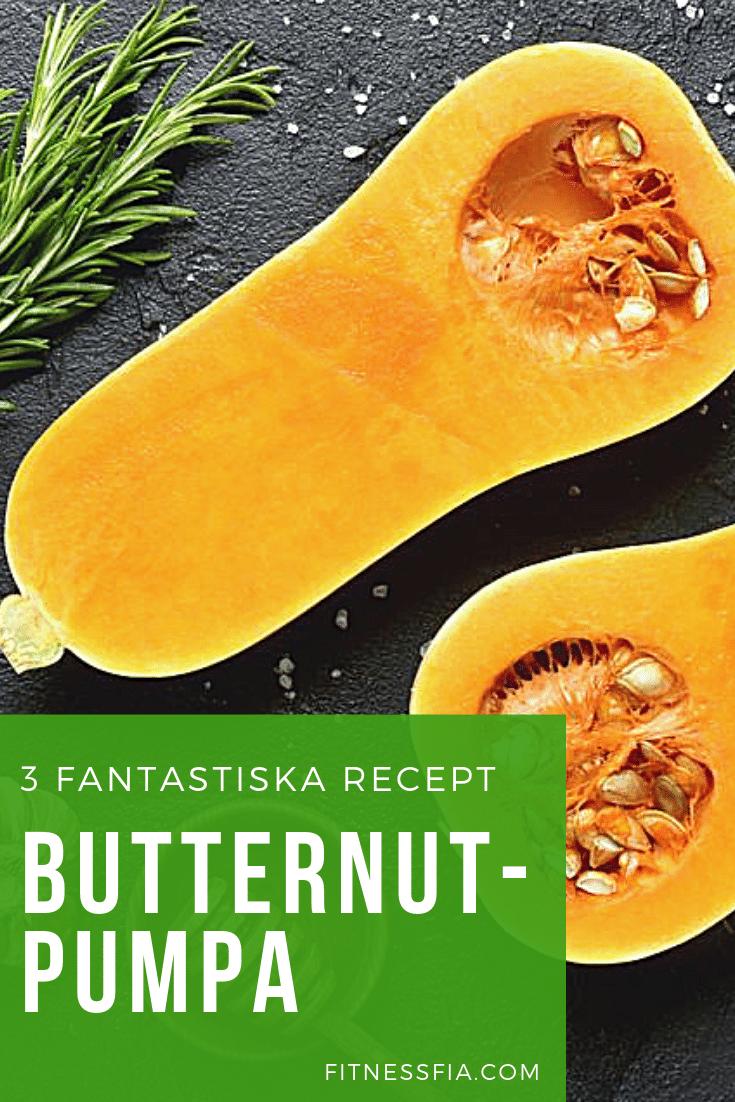 goda recept med butternut pumpa soppa
