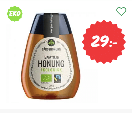 Köpa ekologisk honung billigt