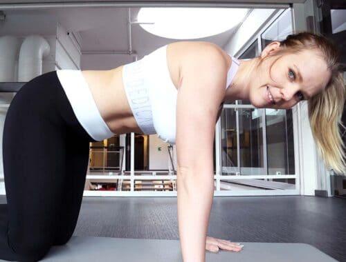träning efter graviditet träna inre magmuskler
