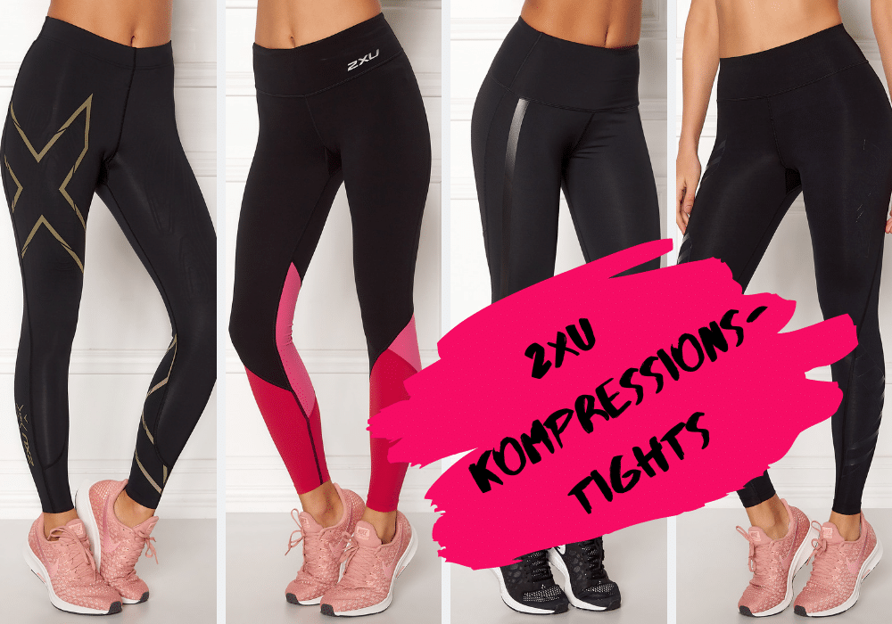 2XU kompressionstights dam tights med kompression dam