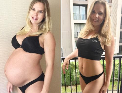 Bli av med mammakilona snabbt, gå ner i vikt efter graviditet