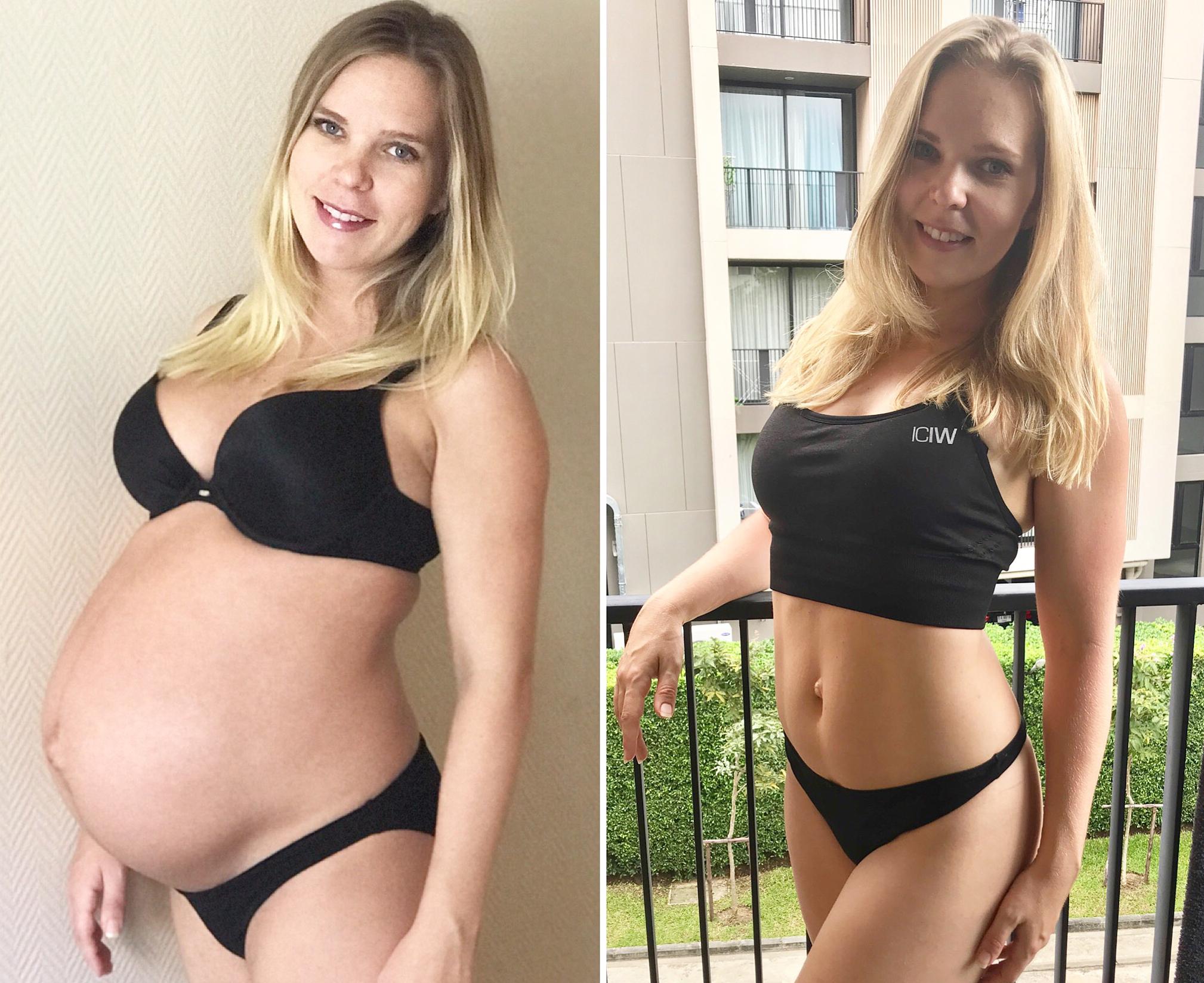 diet efter förlossning