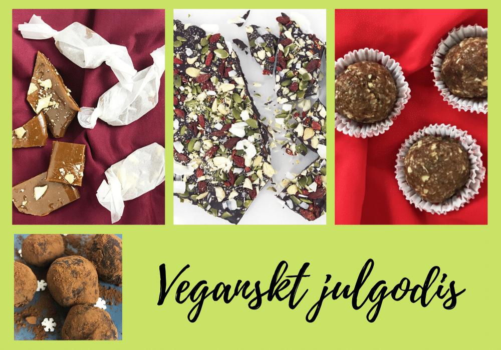Recept veganskt julgodis recept mjölkfritt veganskt julbord
