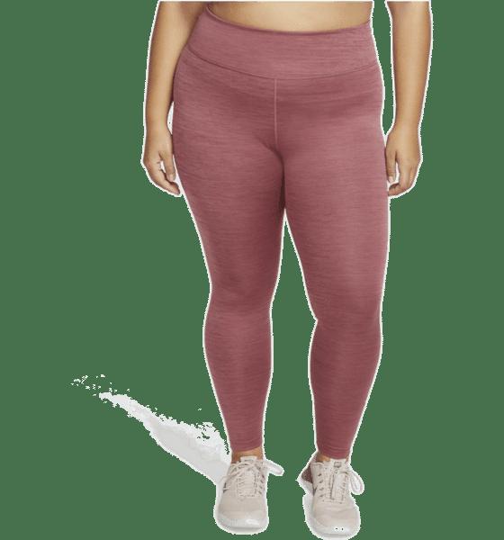 Rosa träningstights större storlekar