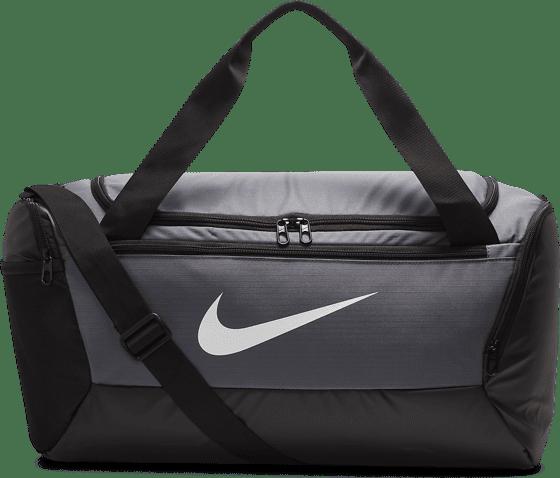 Gymväska Nike gymbag rymlig stilren svart grå