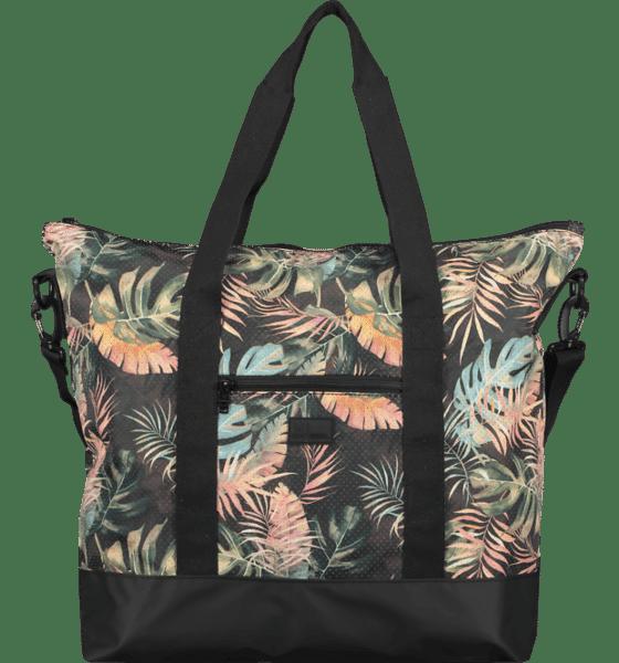 Blommig gymväska träningsväska för kvinnor