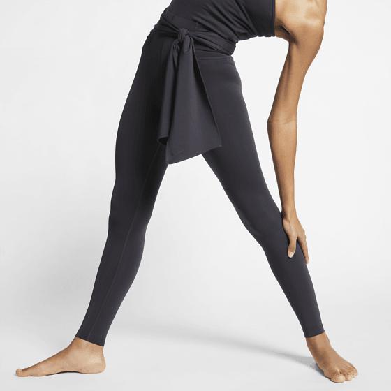 Svarta Nike yogatights