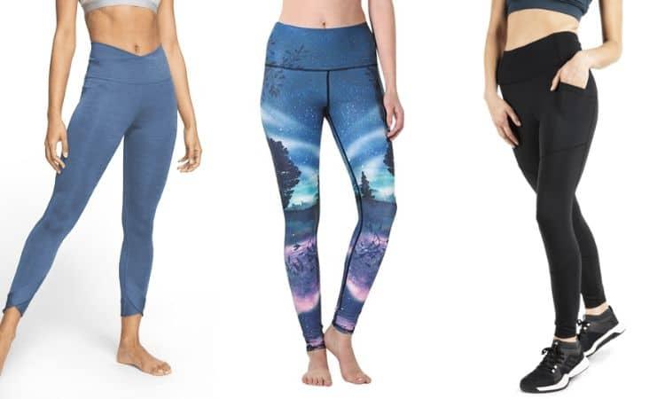 Yogabyxor långa yogatights