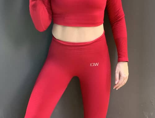 seamless tights icaniwill crop top iciw