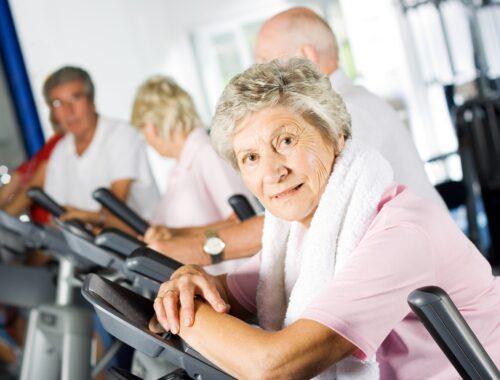 träning för äldre över 70 år