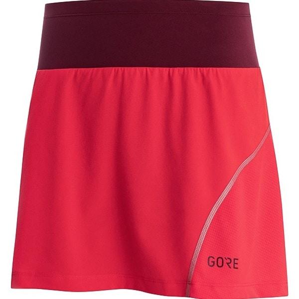 Gore röd löparkjol kjol för träning