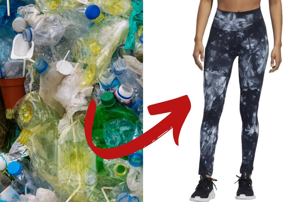 Adidas Parley skor tights miljövänliga träningskläder återvunnen plast