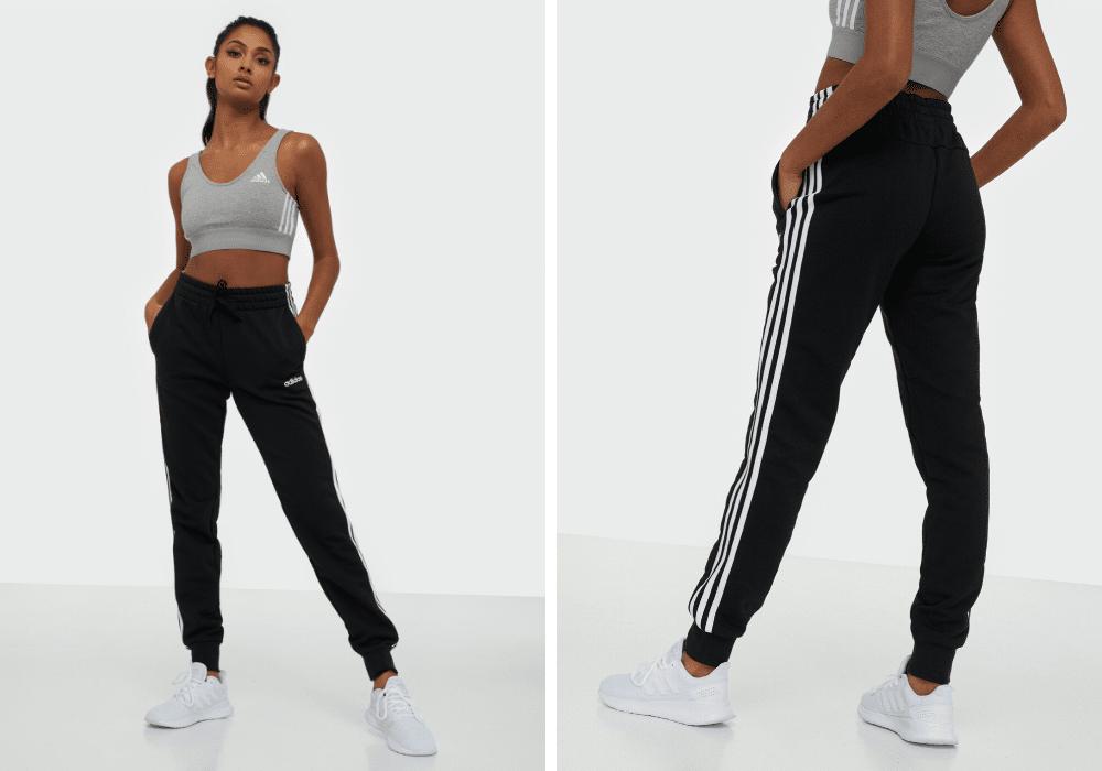 Adidas träningsbyxor med ränder