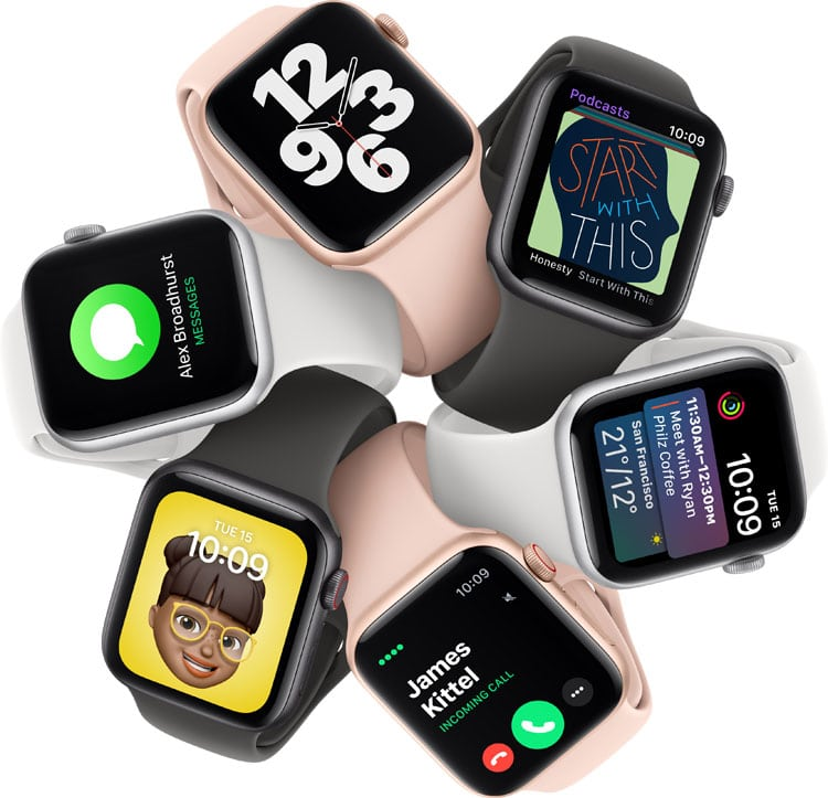apple watch series 6 bästa aktivitetsarmband 2021