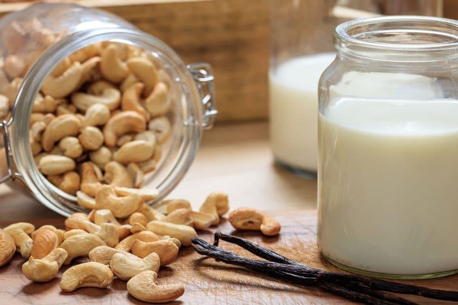 ingredienser cashewmjölk recept mjölk på cashewnötter