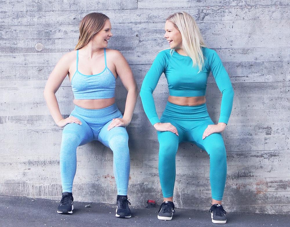 leggings icaniwill seamless träningstights