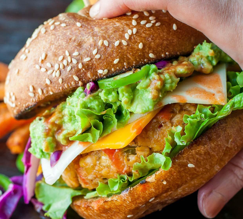 kikärtsburgare recept hamburgare på kikärtor