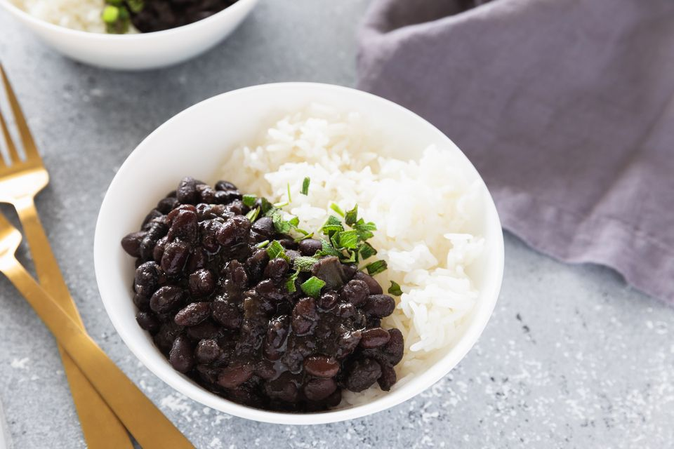 ris och bönor feijao