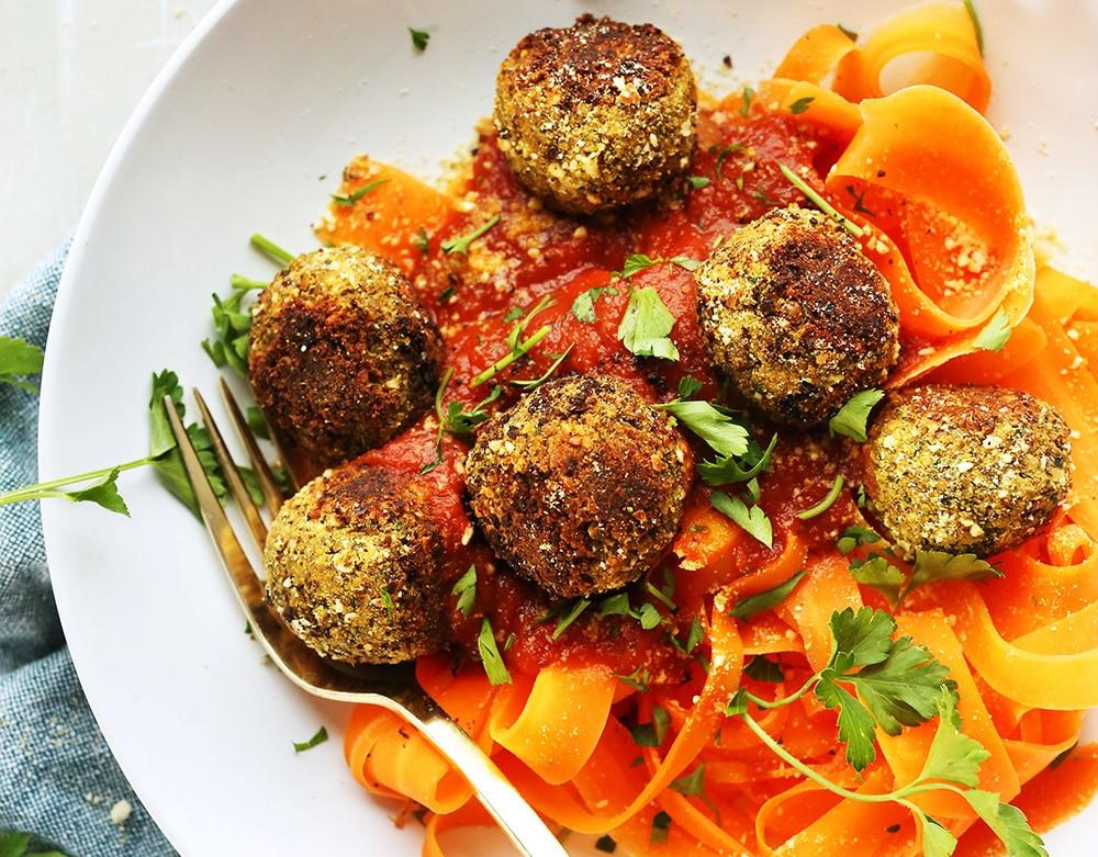 Veganska köttbullar hampafrö bollar recept