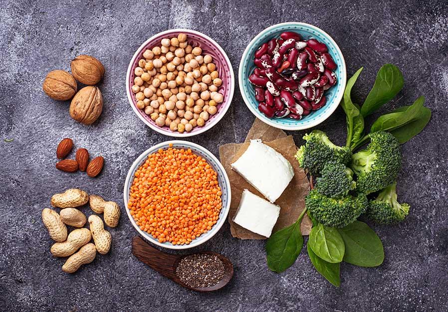 Bästa veganska proteinkällor veganskt protein, bästa källorna till vegetariskt protein