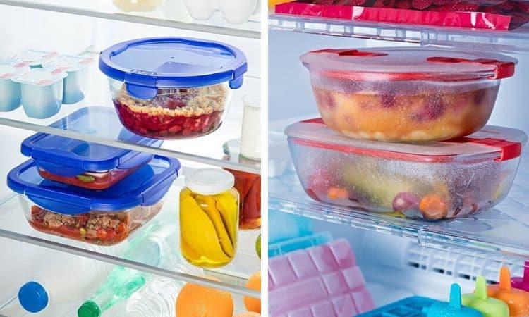 Matlåda glas matlådor i glas Pyrex