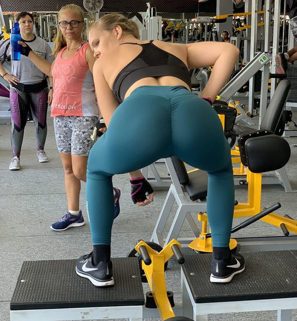 Snygg rumpa träning övningar