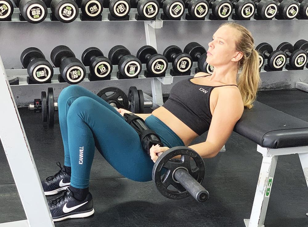 nybörjare på gymmet